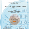"""Godło """"Konsumencki Lider Jakości – Debiut Roku 2013"""" dla produktów plastrowanych ZM Pekpol!"""