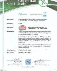 Certyfikat dla wyrobów bezglutenowych